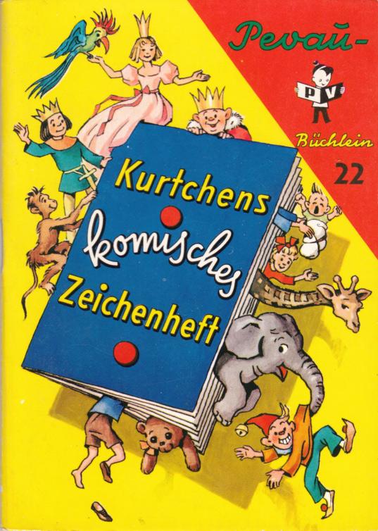 Kurtchens komische Zeichenheft