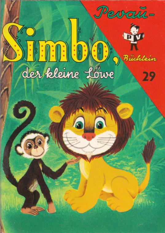 Simbo, der kleine Löwe