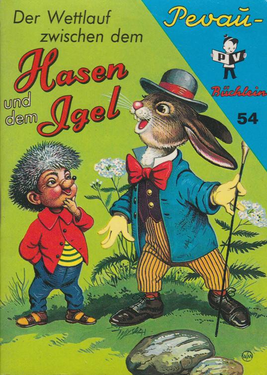 Der Wettlauf zwischen dem Hasen und dem Igel