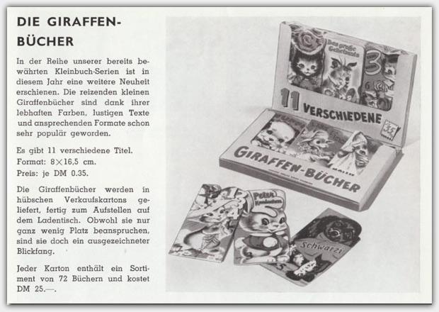 Giraffen-Bücher - VintageBooks