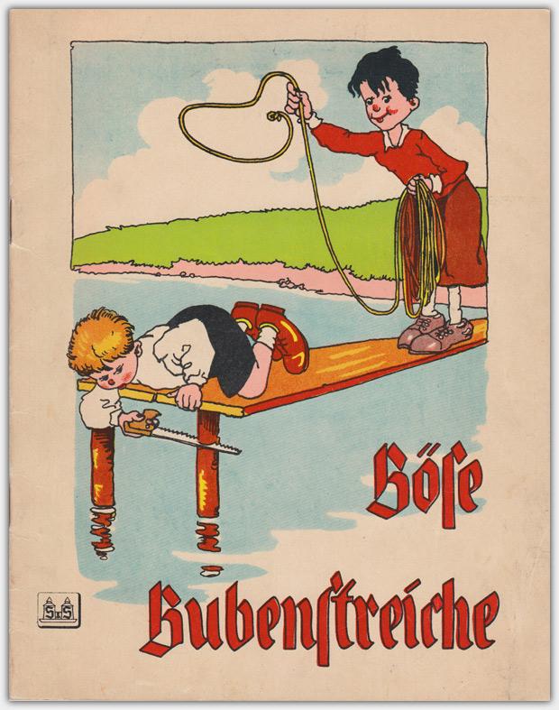 Böse Bubenstreiche | Ausgabe der 1930er Jahre