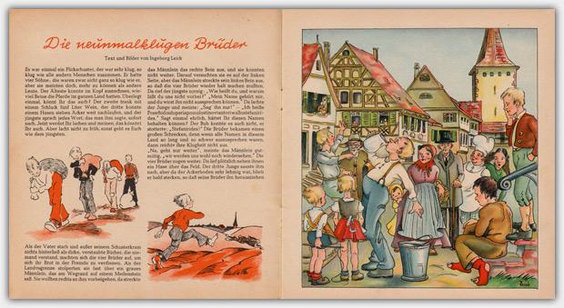 Die Bunte Kiste   September 1949, Innenansicht