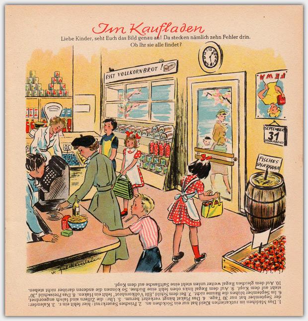Die Bunte Kiste   September 1949, Suchspiel