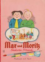 Max und Moritz Sechster Streich | Verlagsnummer 3476