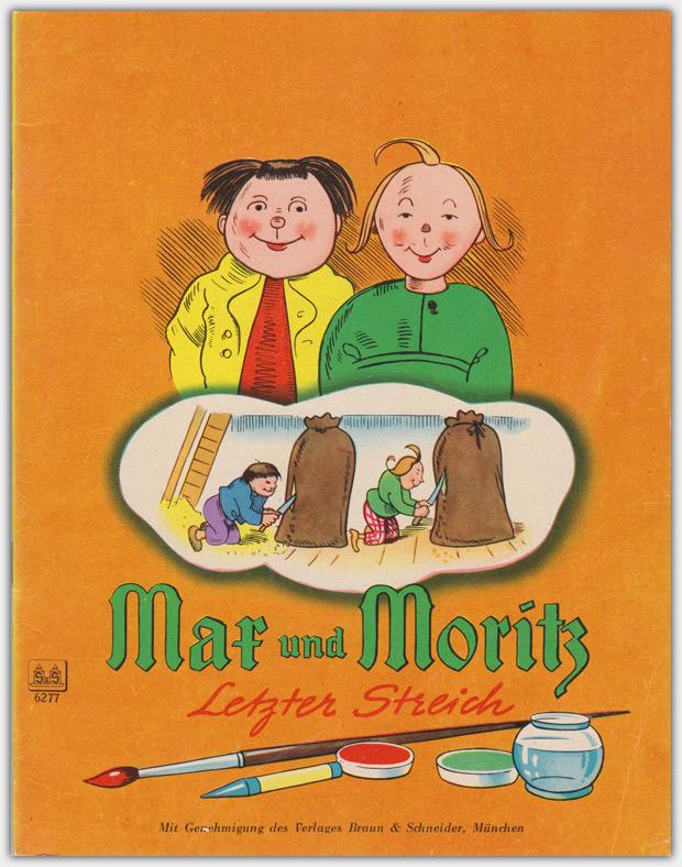 Max und Moritz Letzter Streich | Verlagsnummer 6277