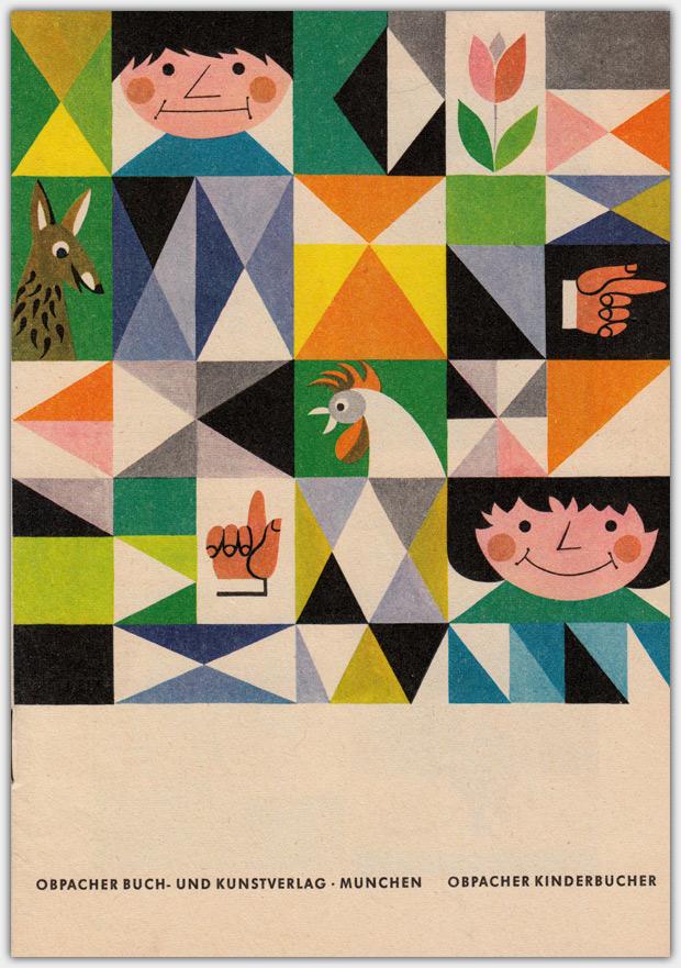 Obpacher Buch- und Kunstverlag | Werbeflyer ca. 1960