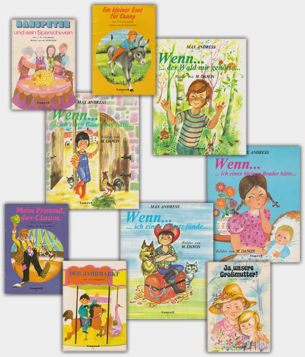 Publikationen aus dem Touret Verlag