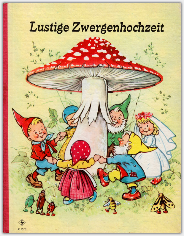 Lustige Zwergenhochzeit | Vereinigte Kunstanstalten Senkeisen, Verlagsnummer 4153/3