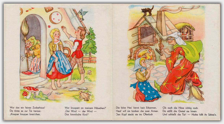 Hänsel und Gretel | Innenseite