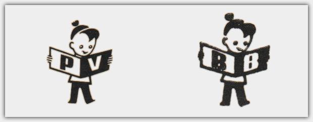 links: Pestalozzi-Logo | rechts: Brimax-Logo