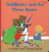 Goldilocks and the Three Bears - Checkerboard Press