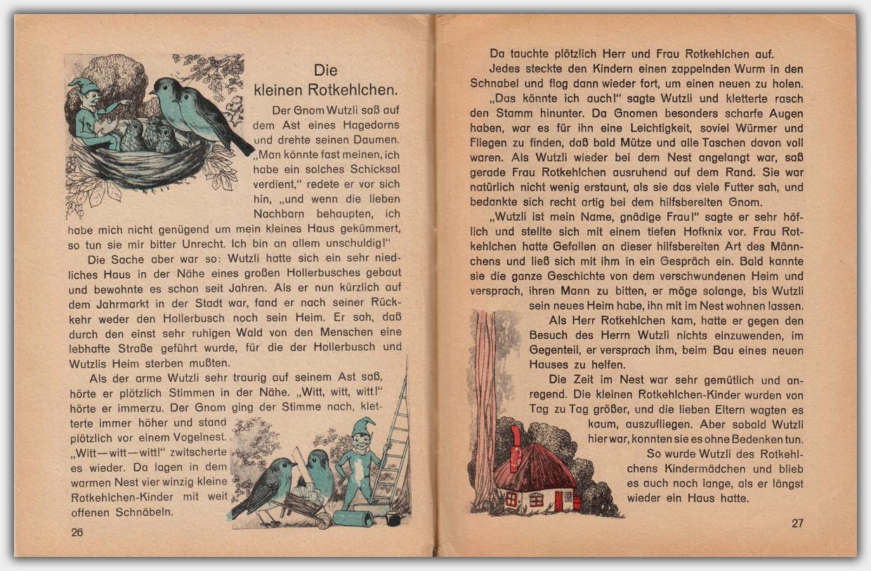Der Märchenwald : Ein neues Geschichtenbuch | Innenseite