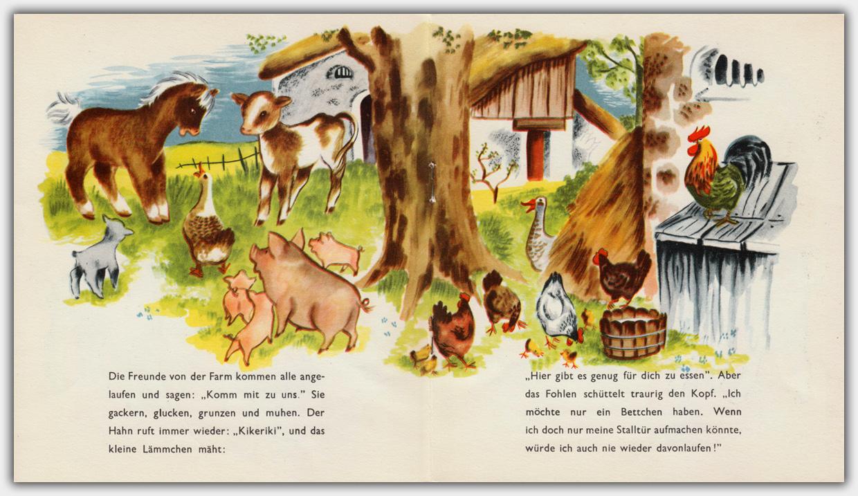 Die lustige Farm | farbige Innenseite