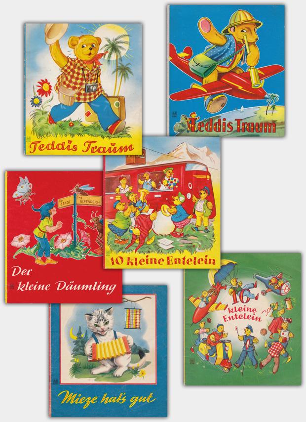 Hefte & Bücher im Format von ca. 22,5 x 20,5 cm