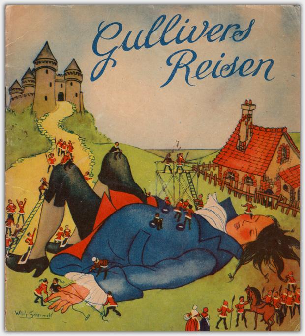 Gullivers Reisen | Willy Schermelé, unbekannter Verlag