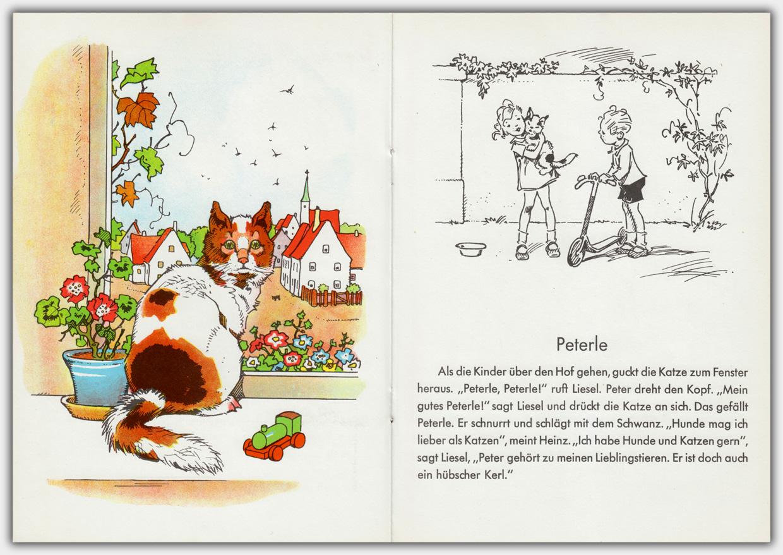 Meine Lieblingstiere | Illustrationen von Fritz Baumgarten