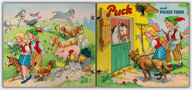 Puck und Puckis Tiere | Metallringbindung