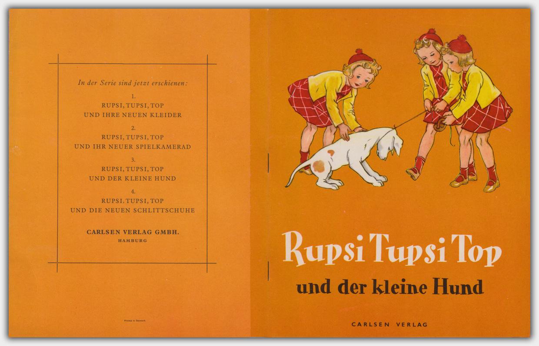 Rupsi Tupsi Top Hefte aus dem Carlsen Verlag