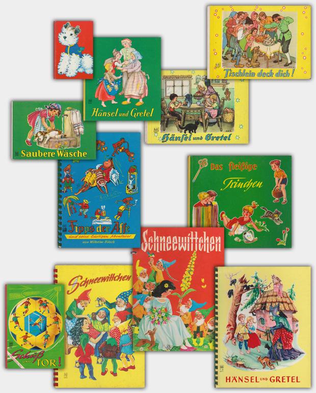Unzerreißbare Pappbilderbücher aus dem Verlag Schwager & Steinlein (S&S)