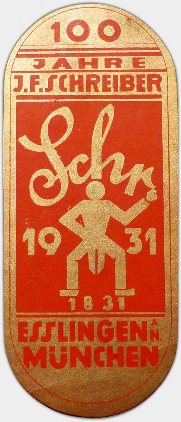 Reklamevignette, 1931