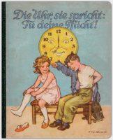 Die Uhr, sie spricht: Tu deine Pflicht!