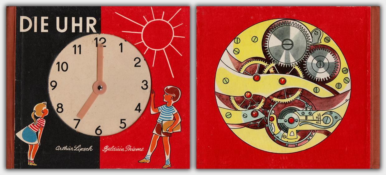 Die Uhr | Postreiter Verlag, Halle | 4. Auflage 1965 | Titel & Rückseite