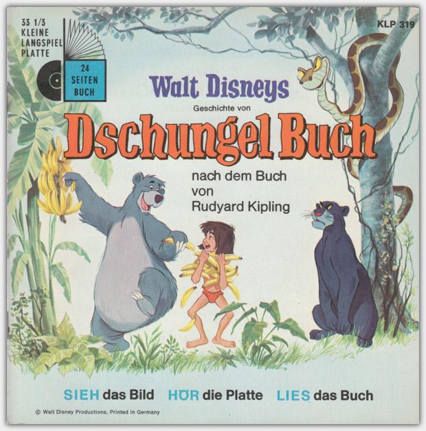 Walt Disneys Dschungel Buch | Kleine Langspielplatte, KLP 319 | 1967