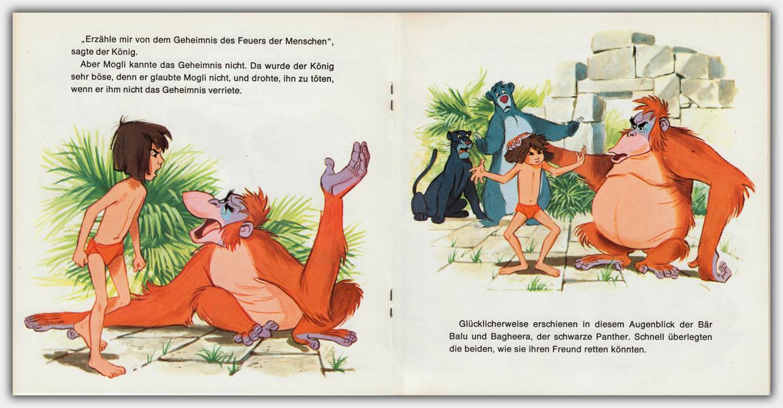 Walt Disneys Dschungel Buch | Innenseite