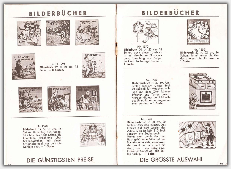 Mulder Katalog 1956 / 1957 | Seite 26 & 27
