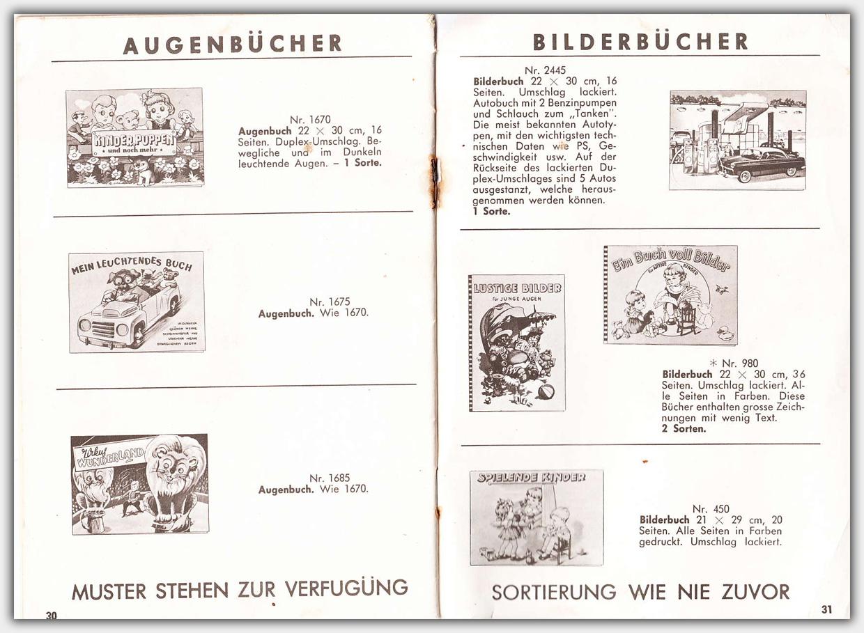 Mulder Katalog 1956 / 1957 | Seite 30 & 31