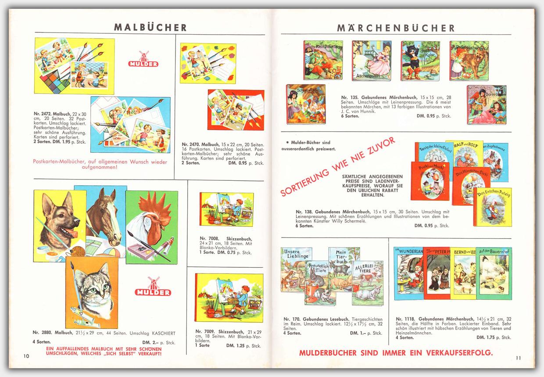 Mulder Katalog 1960 / 1961 | Seite 10 & 11