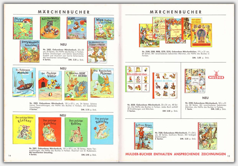 Mulder Katalog 1960 / 1961 | Seite 14 & 15