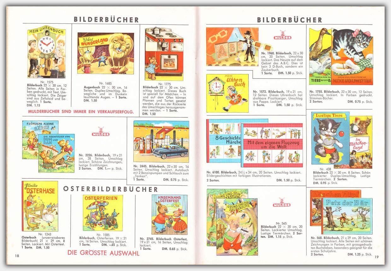 Mulder Katalog 1960 / 1961 | Seite 18 & 19