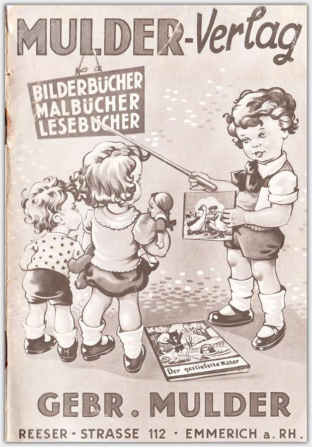 Mulder Katalog 1956 / 1957