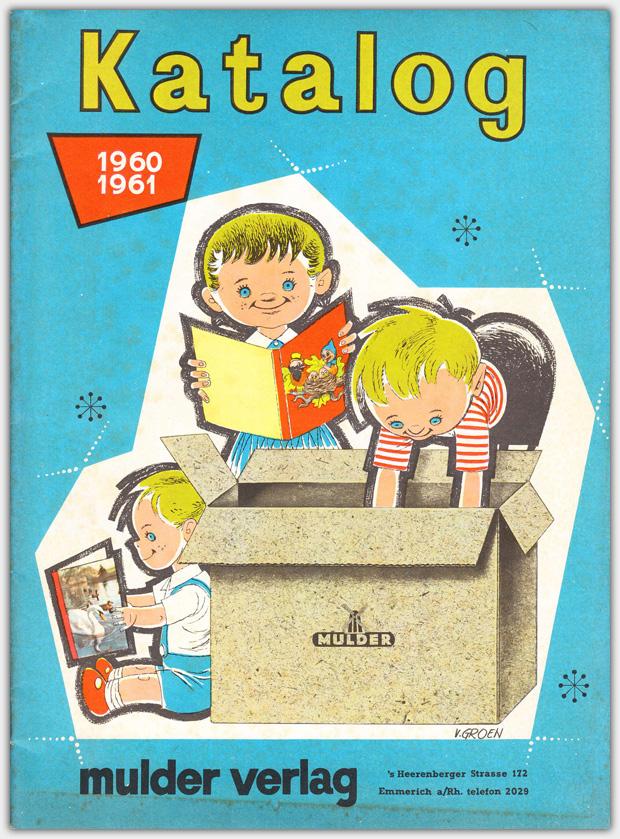 Mulder Katalog 1960 / 1961