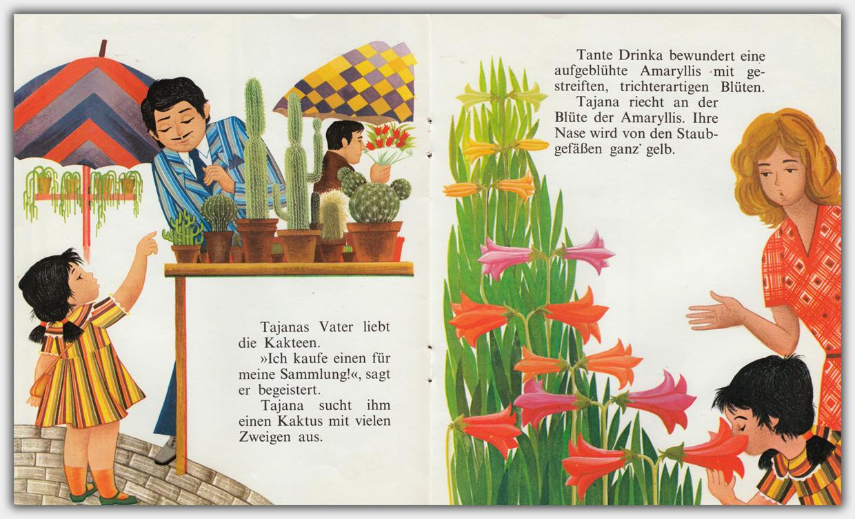 Tajana auf dem Blumenmarkt | Innenseite