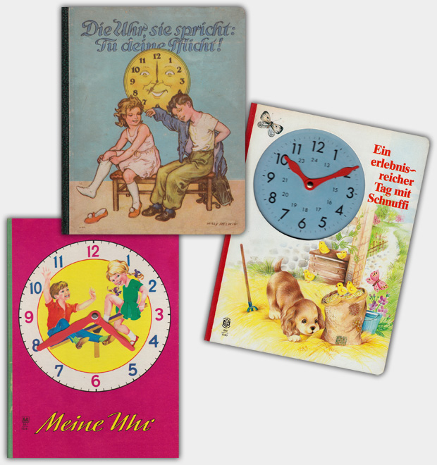 Uhrenbücher aus dem Verlag Schwager & Steinlein