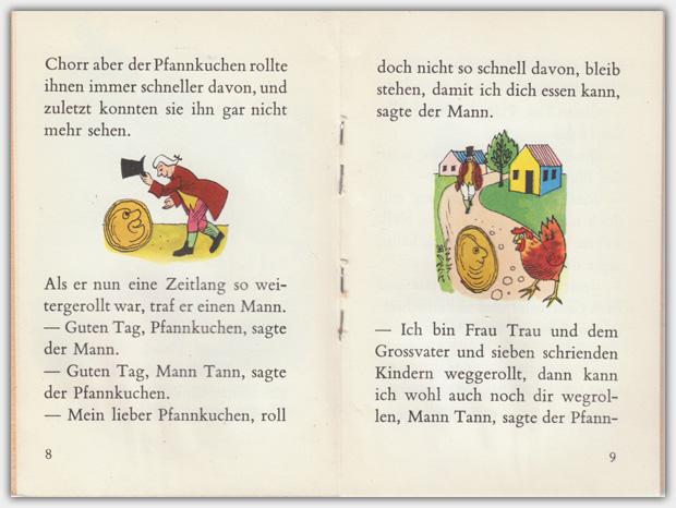 Kleine Märchen | Band 1001 : Das Märchen vom dicken, fetten Pfannekuchen | Innenansicht