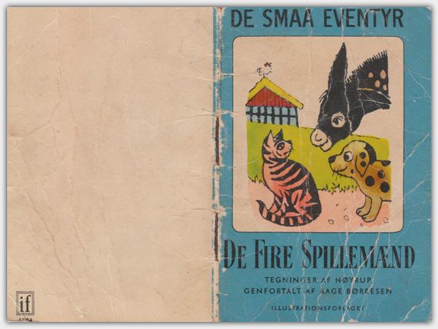 De Smaa Eventyr | Band 1004 : De Fire Spillemænd