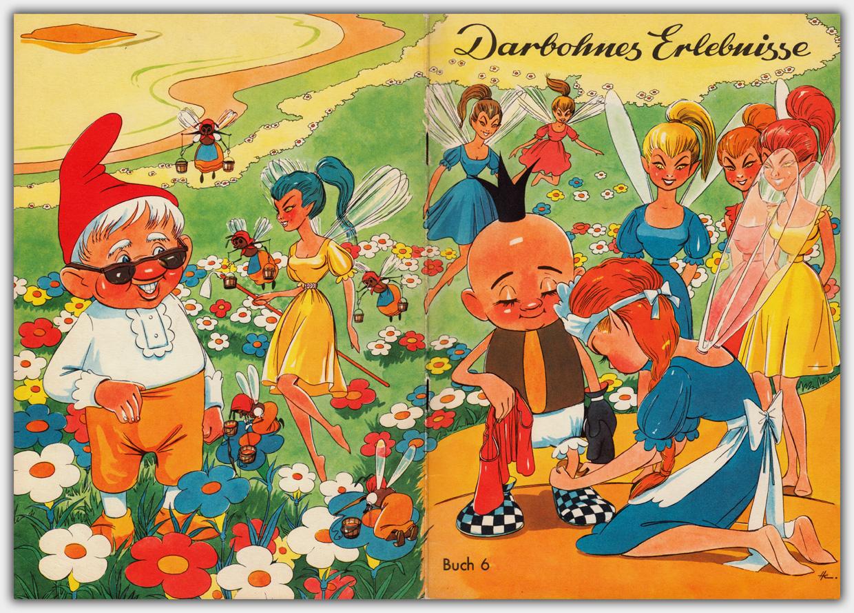 Darbohnes Erlebnisse Buch 6 - Umschlag mit durchgehender Gestaltung