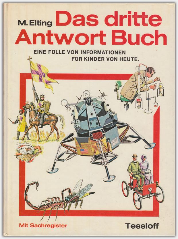 Das dritte Antwort Buch | Neuer Tessloff Verlag, 1972