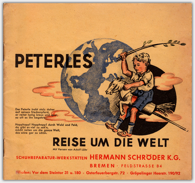 Peterles Reise um die Welt | Verlag Die Lampions, 1948