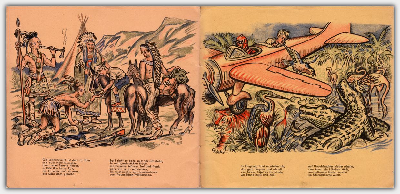 Peterles Reise um die Welt | Seite 2 & 3
