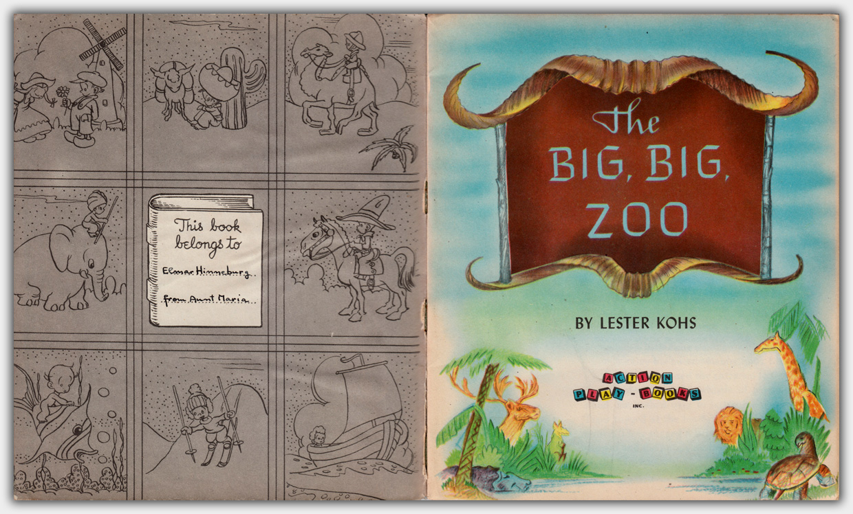 The Big, Big Zoo | Innentitel