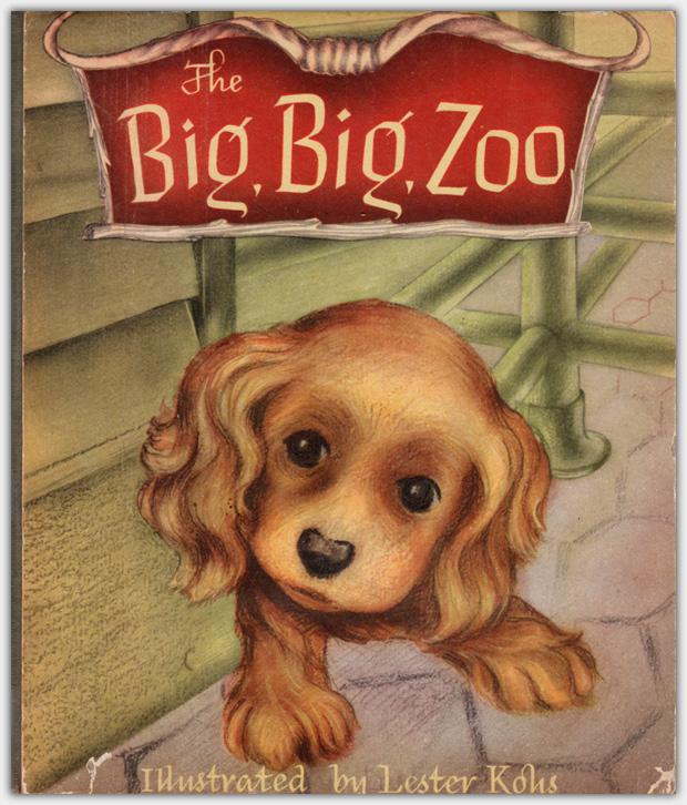 The Big, Big Zoo | First Printing June 1945