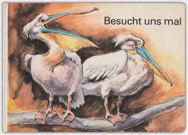 Besucht uns mal | Postreiter Verlag Halle, 4. Auflage 1987