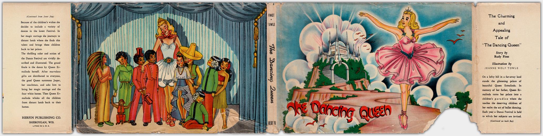 The Dancing Queen | Schutzumschlag