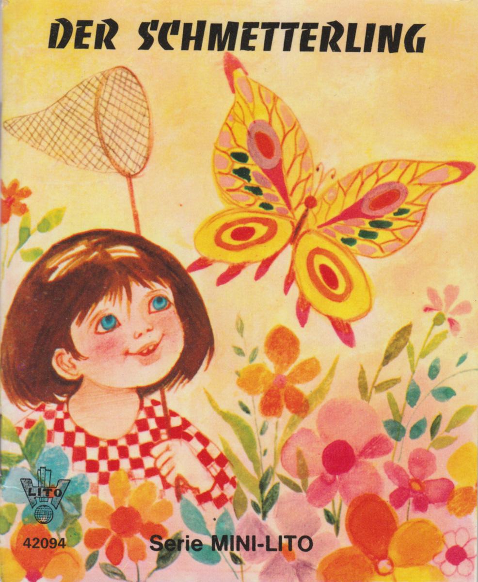 Litho-Babybuch : Der Schmetterling