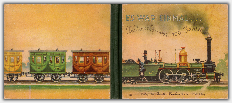 Es war einmal ... Ferienreise vor 100 Jahren | Umschlag