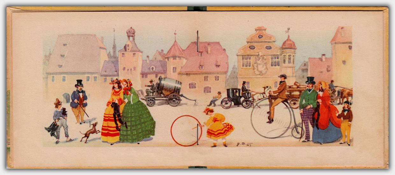 Es war einmal ... Ferienreise vor 100 Jahren | Innenseite